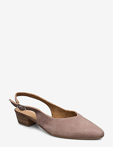 Woms Sling Back - TAUPE