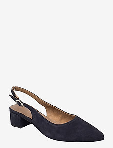 Woms Sling Back - slingbacks - navy