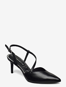 Woms Sling Back - slingbacks - black