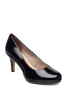 Woms Court Shoe - klassische pumps - black patent