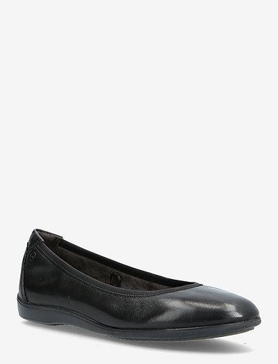 Woms Ballerina - ballerinaer - black leather