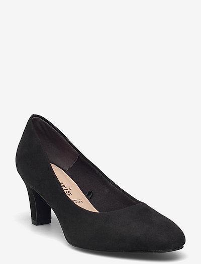 Woms Court Shoe - klassiske pumps - black