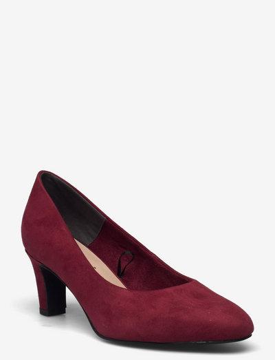 Woms Court Shoe - klassiske pumps - dark scarlet