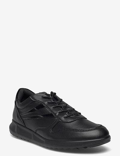 Woms Lace-up - lave sneakers - black uni