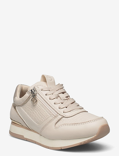 Woms Lace-up - chunky sneakers - cream comb
