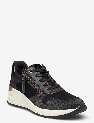 Woms Lace-up - chunky sneakers - black/bronce