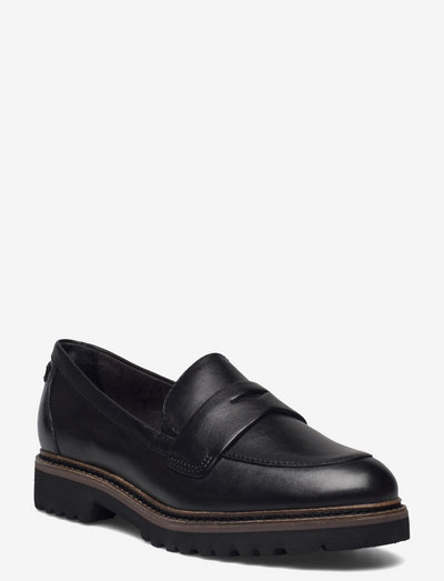 Woms Slip-on - loafers - black leather