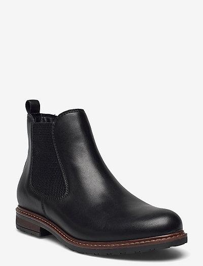 Woms Boots - chelsea støvler - black leather