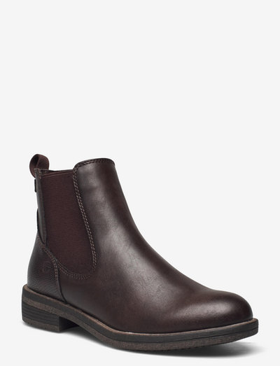 Woms Boots - chelsea boots - mocca/struct.