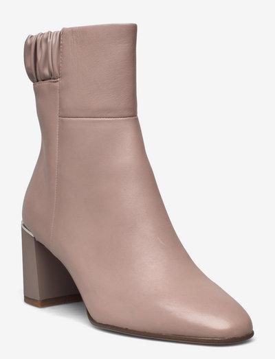 Woms Boots - Genova - ankelstøvler med hæl - dusty rose