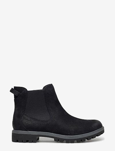 Woms Boots - Papaw - chelsea støvler - black uni