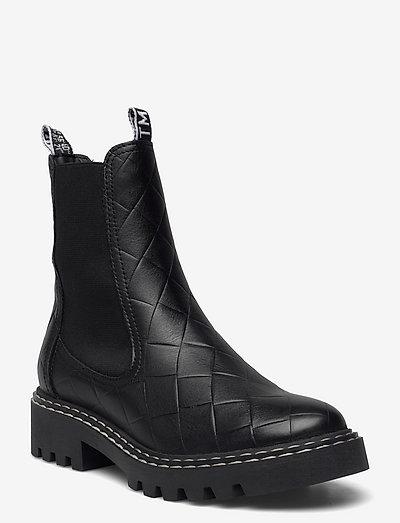 Woms Boots - chelsea støvler - black struct.
