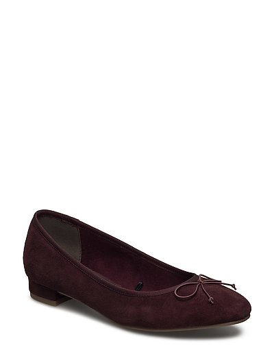 Woms Court Shoe - BERRY
