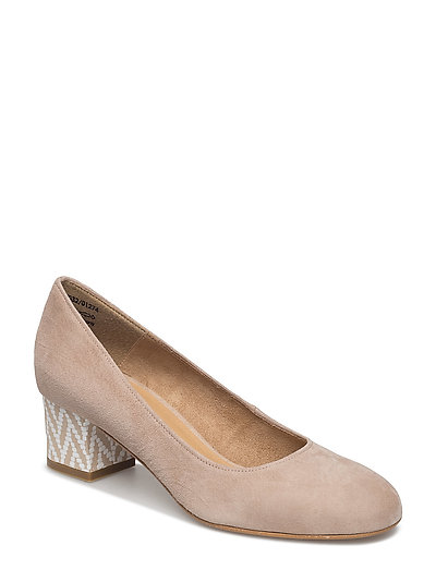 Woms Court Shoe - TAUPE