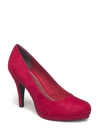 Woms Court Shoe - LIPSTICK