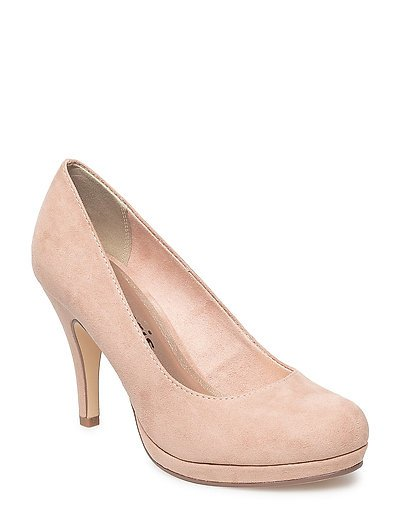 Woms Court Shoe - NUDE