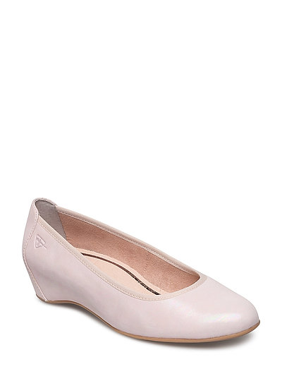 Woms Court Shoe - LIGHT ROSE
