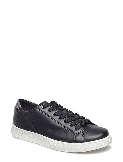 Woms Lace-up - BLACK/PEWTER