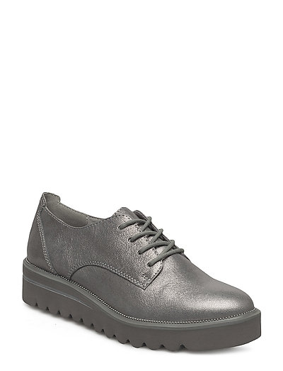 Woms Lace-up - SILVER CRACK