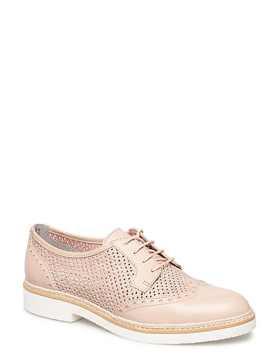 Woms Lace-up - NUDE STRUCT.