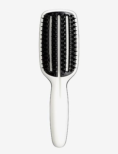 Tangle Teezer Smoothing Tool Half Paddle - hårbørster & kammer - black/white