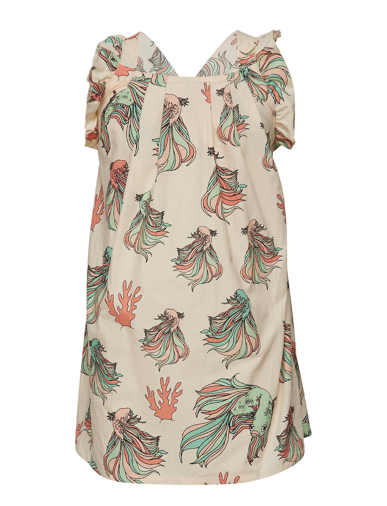 Tao & friends Ruffles Dress multi-animal - BEIGE