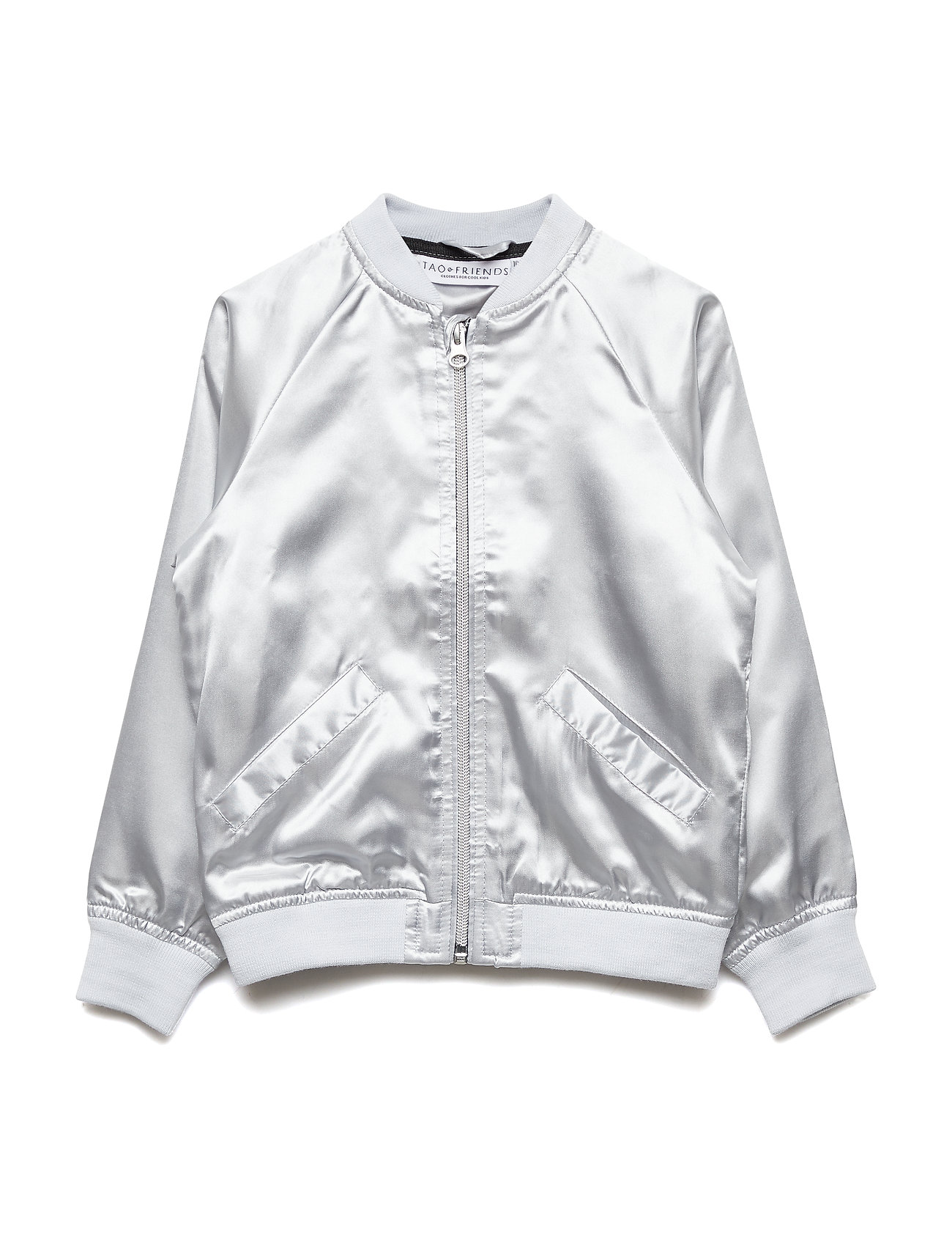 Tao & friends Bomber Jacket Koalan embroidered single-animal - SILVER