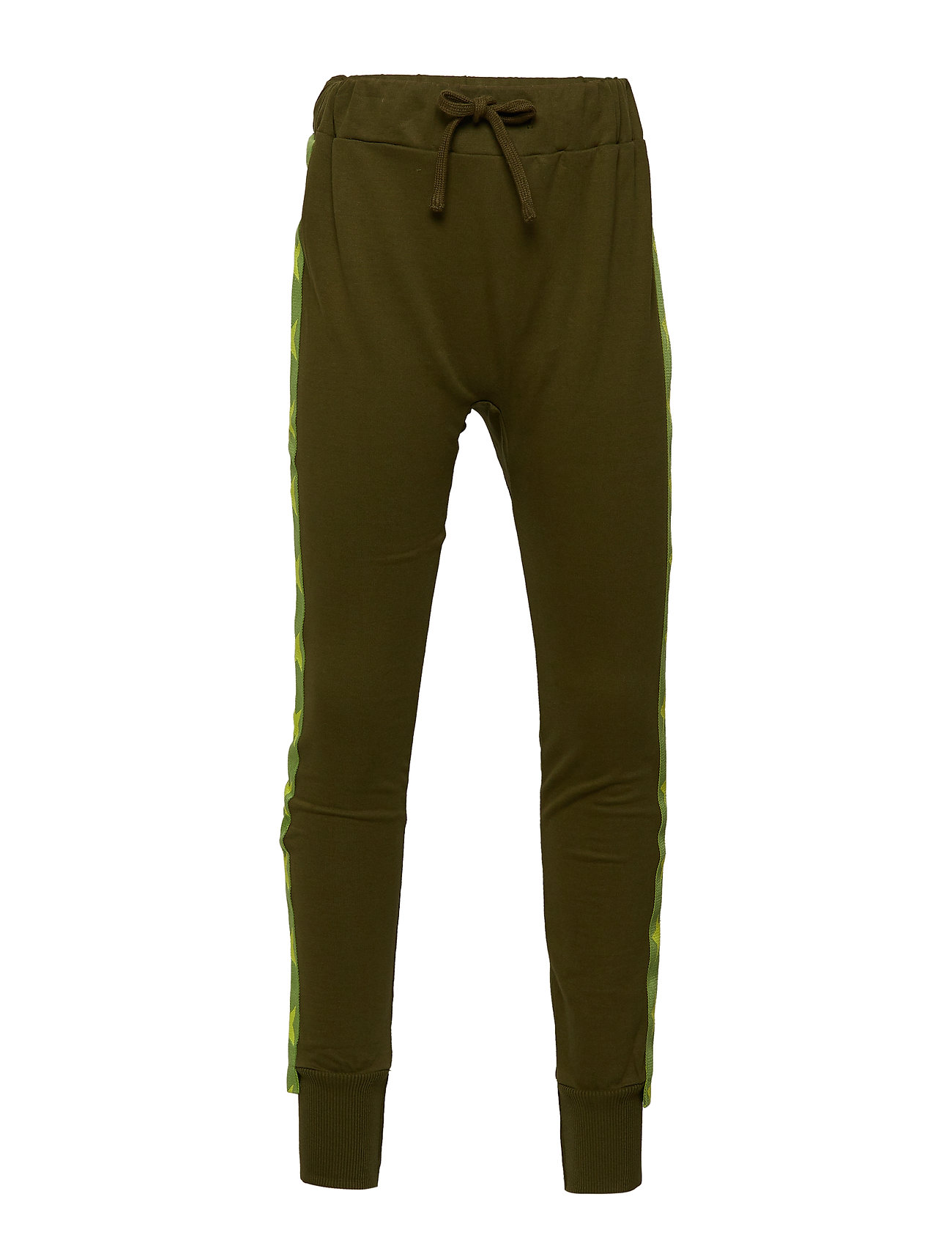Tao & friends Sweatpants with Star fabric band UGGLAN - DARK GREEN