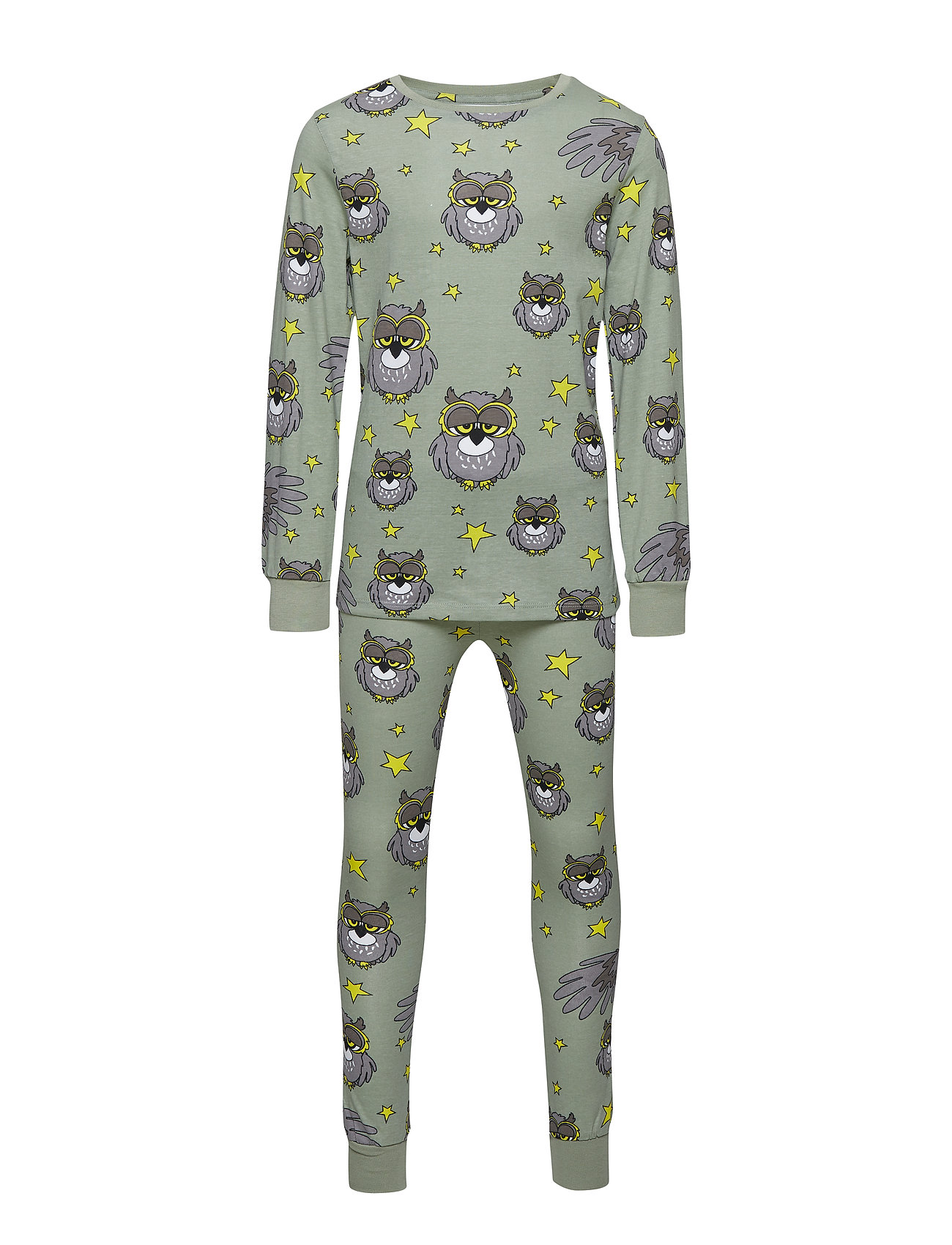 Tao & friends PJs Two-piece UGGLAN - LIGHT GREEN