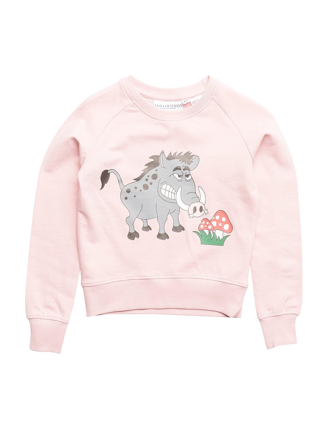 Sweatshirt Vildsvinet Pink 2050 Tao Friends Booztcom