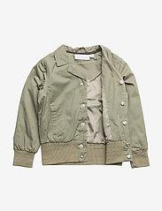 Tao & friends - Spring Jacket Vildsvinet embroidered single-animal - bomberjacks - green - 2