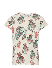 Tee multi-animal FISKEN - BEIGE