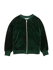 Bomber Jacket Gorillan velvet green - GREEN
