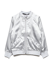 Bomber Jacket Koalan embroidered single-animal - SILVER