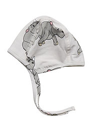 New born hat multi-animal - LIGHT GREY