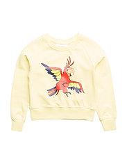 Sweatshirt Papegojan - YELLOW