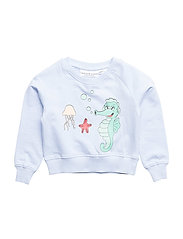 Tao & friends Sweatshirt Sjöhästen - BLUE