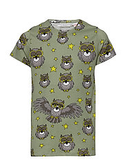 Tee multi-animal UGGLAN - LIGHT GREEN