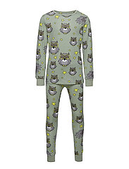 PJs Two-piece UGGLAN - LIGHT GREEN