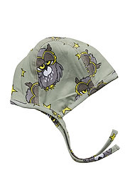 New born hat multi-animal - LIGHT GREEN