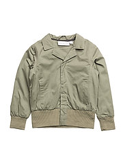 Spring Jacket Vildsvinet embroidered single-animal - GREEN