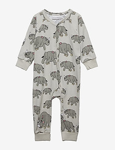 PJs One-piece NOSHÖRNINGEN - LIGHT GREY