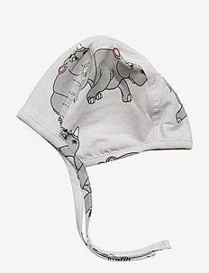 New born hat multi-animal - LIGHT GREY