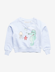 Sweatshirt Sjöhästen - BLUE