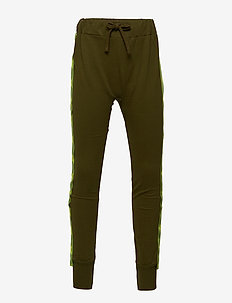 Sweatpants with Star fabric band UGGLAN - DARK GREEN