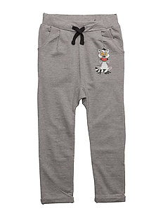 Sweatpants Lemuren single-animal grey - GREY