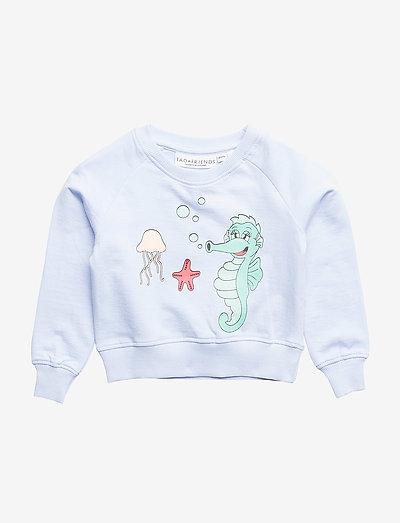 Sweatshirt Sjöhästen - sweatshirts - blue