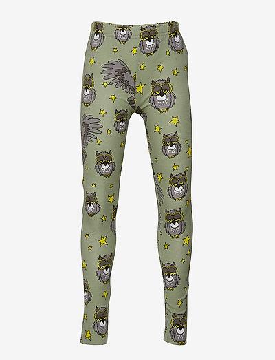 Leggings multi-animal UGGLAN - leggings - light green