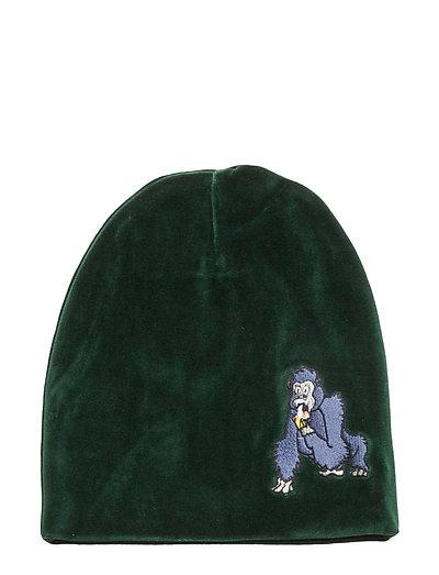 Beanie Gorillan velvet green - GREEN