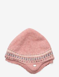 BONNET9 - babyhuer - old pink
